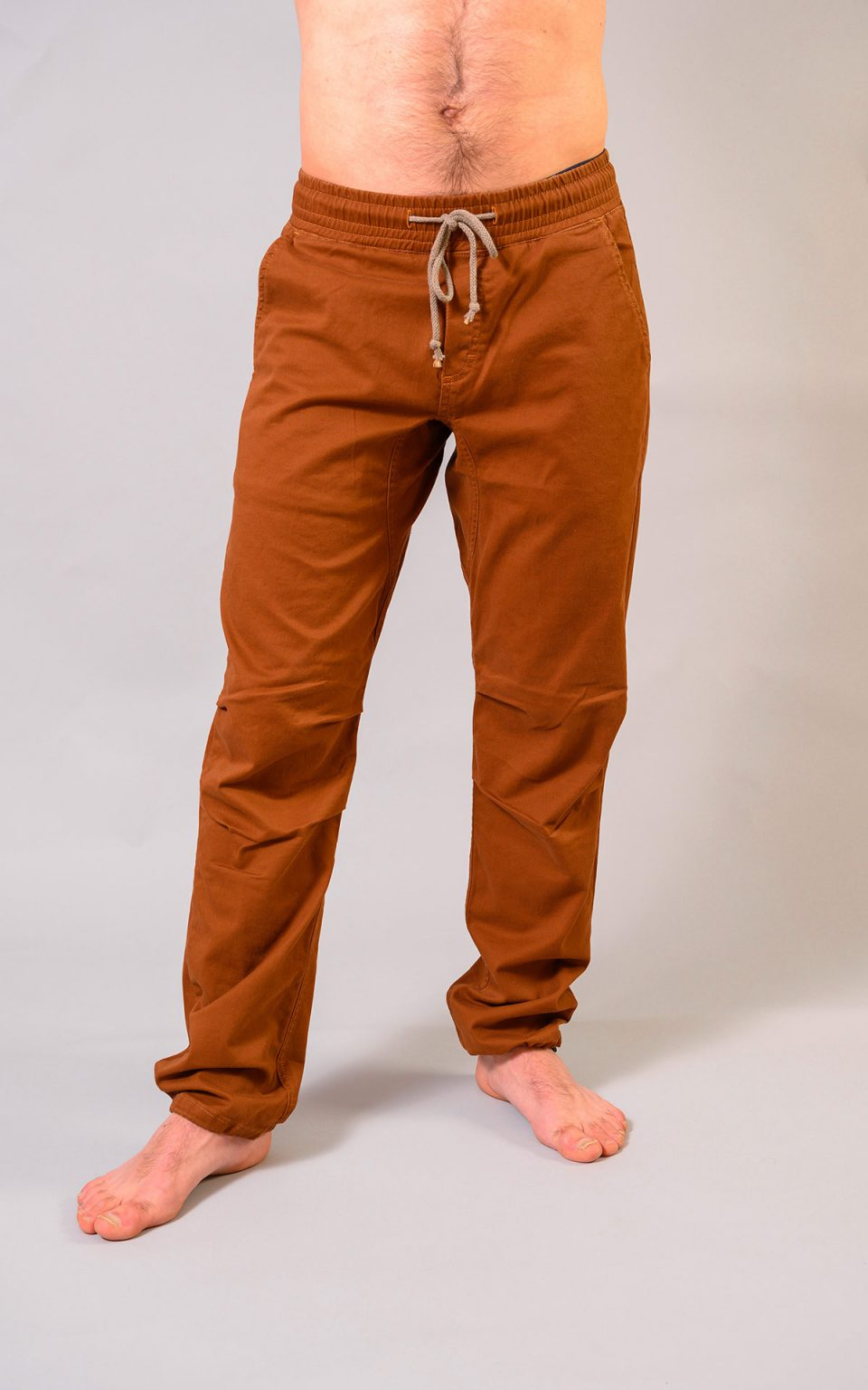 Cotton Classic pants - choclate brown