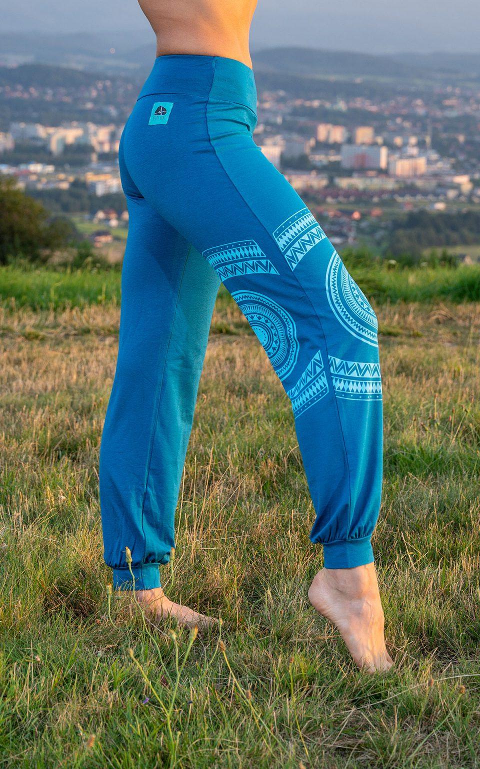 MANDALA pants - blue