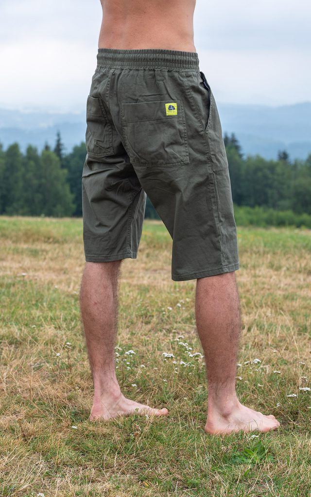 Cotton Classic shorts - olive green