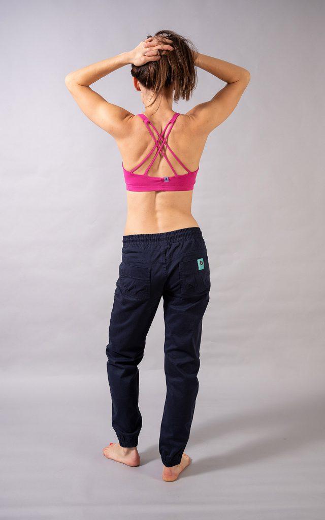 Double Cross bra top -pink