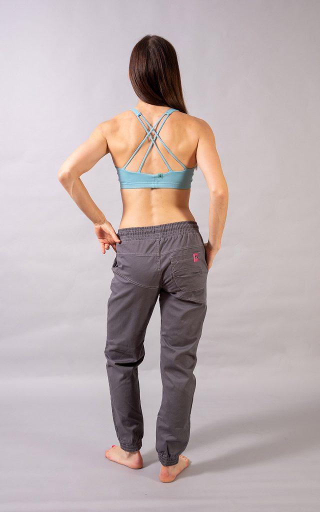 Cotton Crosscut pants - light grey