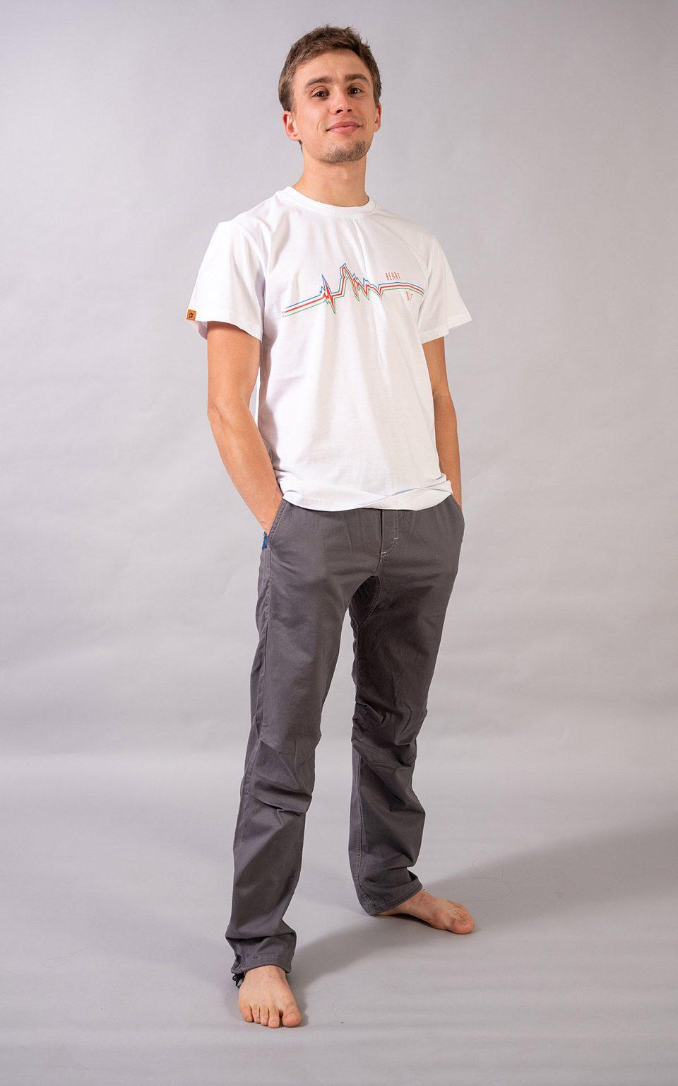 """Cerro Torre"" t-shirt -white"