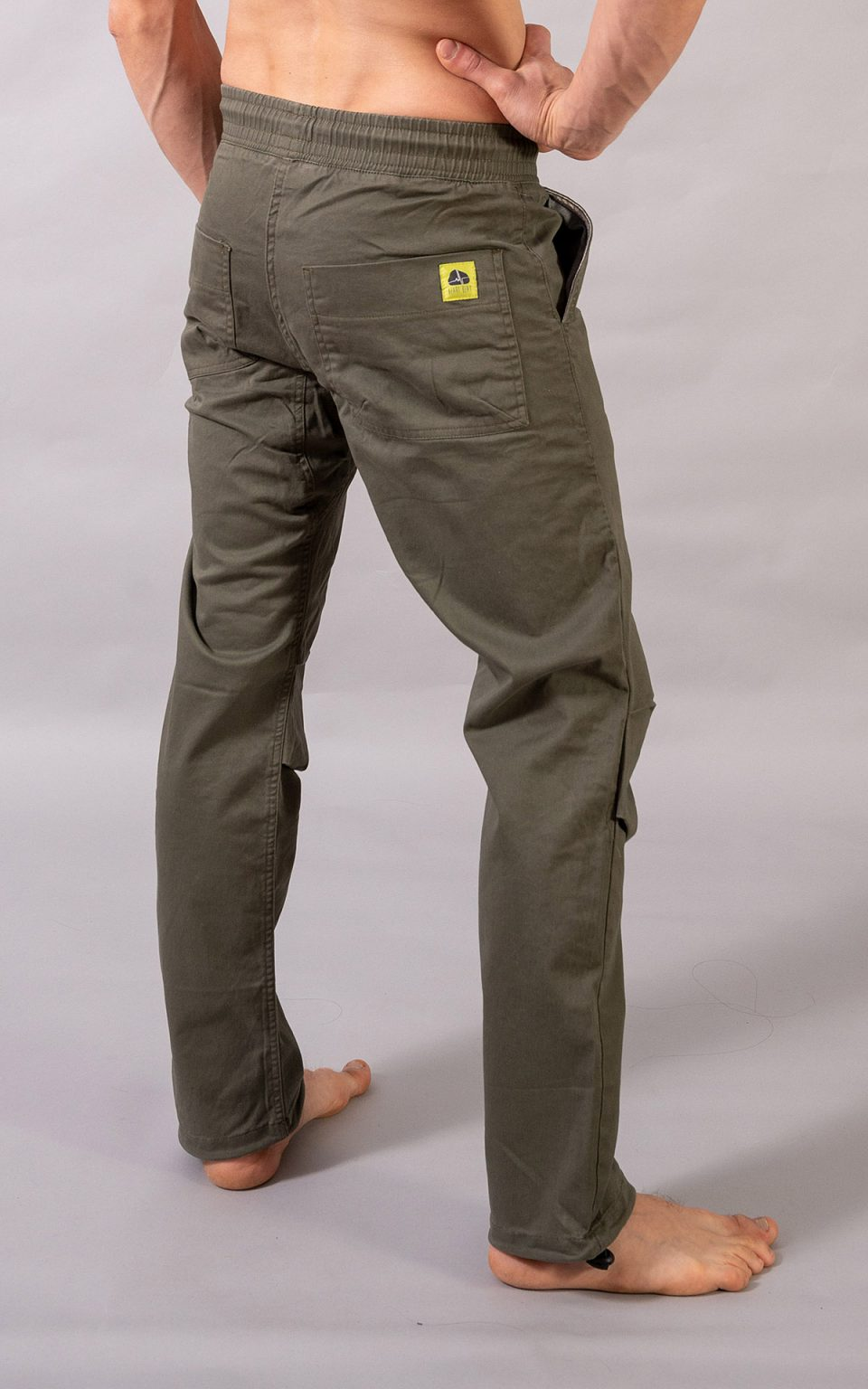 Cotton Classic pants - olive green