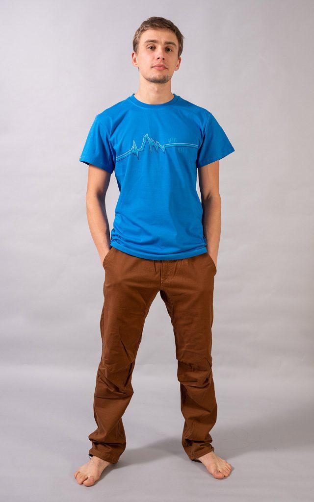 """Cerro Torre"" t-shirt - blue"